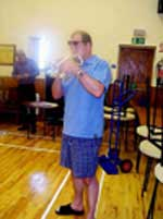 Paul has a quick go at Hora Staccato